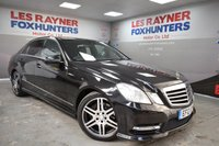 USED 2012 12 MERCEDES-BENZ E CLASS 2.1 E220 CDI BLUEEFFICIENCY S/S SPORT 4d AUTO 170 BHP Park sensors, Leather, Bluetooth, Climate control