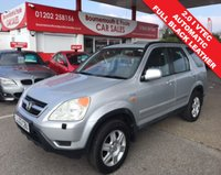 2003 HONDA CR-V 2.0 I-VTEC SE AUTOMATIC EXECUTIVE  £1995.00
