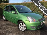 2008 FORD FIESTA 1.4 ZETEC CLIMATE 16V 5d 80 BHP, EXCELLENT CONDITION THROUGHOUT, FULL DEALER SERVICE HISTORY £1995.00