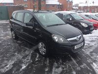 USED 2013 13 VAUXHALL ZAFIRA 1.7 EXCLUSIV CDTI ECOFLEX 5d 108 BHP 7 SEATER WITH PARKING SENSORS, AIR CONDITIONING AND REMOTE LOCKING!!..EXCELLENT FUEL ECONOMY!..LOW CO2 EMISSIONS(134G/KM)..LOW ROAD TAX..FULL VAUXHALL HISTORY...ONLY 13525 MILES FROM NEW!!