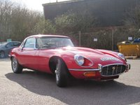 USED 1973 JAGUAR E-TYPE 5.3 OPEN 2d AUTO