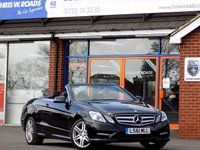 USED 2011 61 MERCEDES-BENZ E CLASS 2.1 E250 CDI BLUEEFFICIENCY SPORT ED125 2dr Convertible (204) *ONLY 9.9% APR*