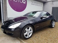 USED 2007 MERCEDES-BENZ SLK 1.8 SLK200 KOMPRESSOR 2d 161 BHP