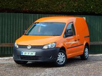 USED 2012 62 VOLKSWAGEN CADDY 1.6 C20 TDI BLUEMOTION 102 1d 101 BHP FULL SERVICE HISTORY, FINANCE AVAILABLE