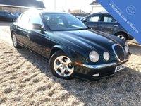 2000 JAGUAR S-TYPE 3.0 SE V6 4d AUTO 240 BHP £1495.00