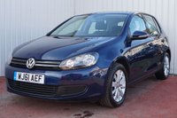 USED 2011 61 VOLKSWAGEN GOLF 1.6 MATCH TDI 5d 103 BHP £30 PER YEAR ROAD TAX