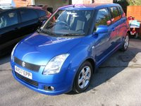 2007 SUZUKI SWIFT 1.5 GLX VVTS 5d AUTO 101 BHP £SOLD