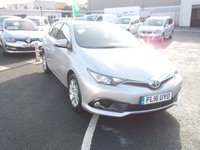 2016 TOYOTA AURIS 1.6 D-4D BUSINESS EDITION 5d 110 BHP £11495.00