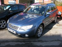 2007 SUBARU OUTBACK 3.0 RN (Si) AWD 5d AUTO 245 BHP £SOLD
