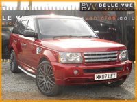 USED 2007 07 LAND ROVER RANGE ROVER SPORT 2.7 TDV6 SPORT HSE 5d 188 BHP *22'' ALLOYS, COLOUR CODED*