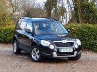 2012 SKODA YETI 2.0 S TDI CR 4X4 5d 109 BHP £7170.00