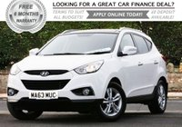 USED 2013 63 HYUNDAI IX35 1.7 PREMIUM CRDI 5d 114 BHP +++ FREE 6 months Autoguard Warranty included in screen price +++