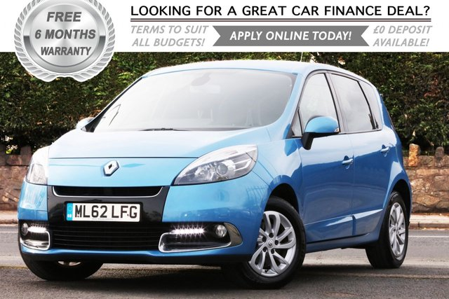 2013 62 RENAULT SCENIC 1.6 DYNAMIQUE TOMTOM ENERGY DCI S/S 5d 130 BHP