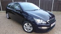 USED 2015 64 PEUGEOT 308 1.6 HDI S/S SW ACTIVE 5dr Sat Nav, Cruise, PDC, 1 Owner