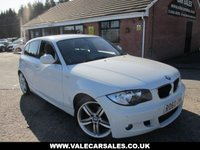 2010 BMW 1 SERIES 118D M SPORT 5dR AUTO £3780 OF EXTRAS £7790.00