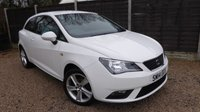USED 2014 14 SEAT IBIZA 1.4 TOCA 3dr Air Con, 6 Month Warranty