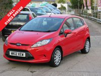 2012 FORD FIESTA 1.2 EDGE 5d 59 BHP £4495.00