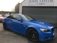 2012 BMW M3 4.0 M3 2d AUTO 415 BHP One Of 30 Special Edition M3's Finished In Very Rare Santorini Blue, This Bmw M3 Is In Pristine Condition Throughout With A Full BMW Service History, £31495.00