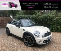 USED 2010 60 MINI CONVERTIBLE 1.6 COOPER 2d 122 BHP CHILI PACK BLUETOOTH PHONE PREP HALF LEATHER 17 INCH ALLOYS £3400 EXTRAS