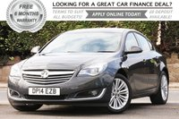 USED 2014 14 VAUXHALL INSIGNIA 2.0 DESIGN CDTI ECOFLEX S/S 5d 138 BHP +++ FREE 6 months Autoguard Warranty included in screen price +++