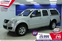 2013 GREAT WALL STEED 2.0 TD S 4X4 DCB 4d 141 BHP £9999.00