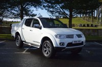 2012 MITSUBISHI L200 2.5 DI-D 4X4 WARRIOR LB DCB 1d 175 BHP BLACK EDITION ****NO VAT**** £11995.00