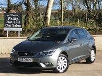 2016 SEAT LEON 1.6 TDI SE TECHNOLOGY 5d 110 BHP £9995.00