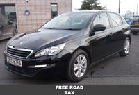 USED 2015 PEUGEOT 308 1.6 HDI ACTIVE 5d 92 BHP FREE ROAD TAX