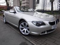 2005 BMW 6 SERIES 3.0 630I 2d AUTO 255 BHP £9995.00