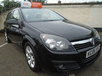 2006 VAUXHALL ASTRA 1.4 SXI 16V TWINPORT 5d 90 BHP £SOLD