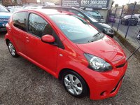 2014 TOYOTA AYGO 1.0 VVT-I MOVE WITH STYLE 5d 68 BHP £4495.00