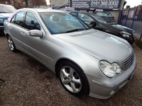 USED 2005 05 MERCEDES-BENZ C CLASS 1.8 C180 KOMPRESSOR AVANTGARDE SE 4d AUTO 141 BHP LEATHER, AIRCON, ALLOYS, F.S.H