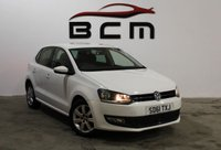 2011 VOLKSWAGEN POLO 1.2 MATCH 5d 59 BHP £SOLD