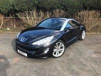 2011 PEUGEOT RCZ 1.6 THP GT 2d 156 BHP £6500.00