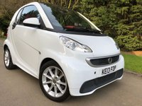 2013 SMART FORTWO 1.0 PASSION MHD 2d AUTO 71 BHP £4490.00