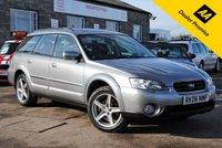 2006 SUBARU OUTBACK 2.5 SE AWD 5d 165 BHP £3795.00