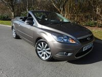2010 FORD FOCUS 2.0 CC2 2d 144 BHP Convertible £SOLD