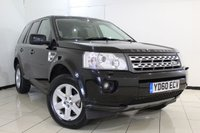 USED 2010 60 LAND ROVER FREELANDER 2.2 SD4 GS 5DR AUTOMATIC 190 BHP FULL SERVICE HISTORY + CRUISE CONTROL + PARKING SENSOR + MULTI FUNCTION WHEEL + AIR CONDITIONING + 17 INCH ALLOY WHEELS