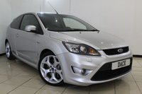 USED 2009 09 FORD FOCUS 2.5 ST-2 3DR 223 BHP SERVICE HISTORY + PARKING SENSOR + RECARO SPORT SEATS + BLUETOOTH + AIR CONDITIONING + 18 INCH ALLOY WHEELS