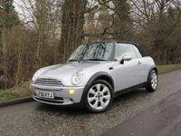 2006 MINI CONVERTIBLE 1.6 COOPER 2d 114 BHP £2695.00