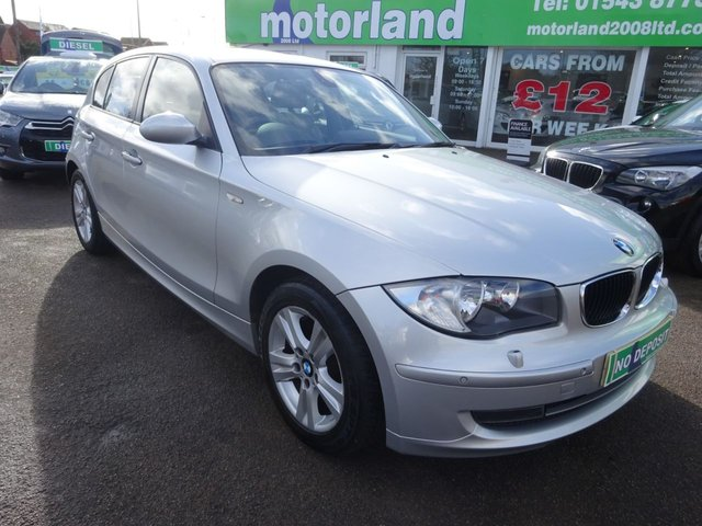 USED 2009 58 BMW 1 SERIES 2.0 120I SE 5d AUTO 168 BHP **JUST ARRIVED.....SAT NAV**SERVICE HISTORY**AUTOMATIC