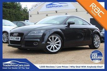 2012 AUDI TT 2.0 TDI QUATTRO SPORT 2d 170 BHP £10950.00