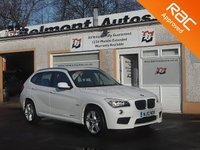 USED 2012 12 BMW X1 2.0 SDRIVE18D M SPORT 5d 141 BHP 4 Service Stamps ,Voice Control , Bluetooth , AUX