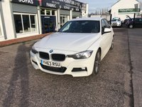 USED 2013 63 BMW 3 SERIES 2.0 320D M SPORT 4d AUTO 181 BHP JUST ARRIVED Full Service History-Sat Nav-Bluetooth-Full Leather-DAB Radio