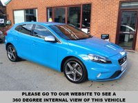 USED 2015 65 VOLVO V40 2.0 D2 R-DESIGN 5d 118 BHP Zero road tax,      Full service history,       R-Design steering wheel,       R-Design contrasting leather upholstery,       Bluetooth,       DAB radio,       USB connection