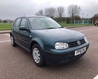 USED 2001 51 VOLKSWAGEN GOLF 1.6 SE 5d 103 BHP