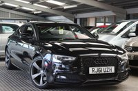USED 2012 61 AUDI A5 1.8 TFSI S LINE BLACK EDITION 2d 170 BHP