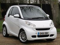 2011 SMART FORTWO 1.0 PASSION MHD 2d 71 BHP £3990.00