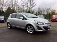 USED 2013 63 VAUXHALL CORSA 1.4 SXI AC 5d LOW MILEAGE AND LOW INSURANCE  NO DEPOSIT  FINANCE ARRANGED, APPLY HERE NOW