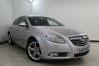 USED 2010 60 VAUXHALL INSIGNIA 2.0 SRI CDTI 5DR 128 BHP BLUETOOTH + CRUISE CONTROL + MULTI FUNCTION WHEEL + AIR CONDITIONING + 18 INCH ALLOY WHEELS